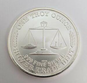 United-States-1-TroyOZ-999-Fine-Silver-Northwest-Territorial-Mint-Trade-Unit-BU