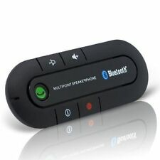 Wireless Bluetooth Slim Magnetic Handsfree Car Kit Speaker Phone Visor Clip.HQ