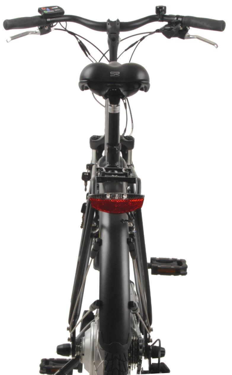 SAXXX Touring E-Bike Pedelec 10,4 10,4 10,4 Ah 374 Wh 7-Gang Elektrofahrrad, Federgabel 591e1e