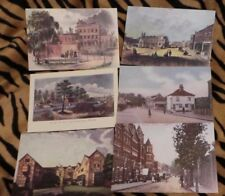 ENFIELD - 6 x Horseshoe Antiques postcards  NEW