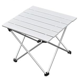 Image Is Loading Camping Beach Folding Table With Aluminum Table Top