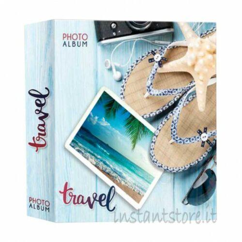 Album Fotografico Zep 200 foto 13x19 13x18 Portafoto Travel viaggi instantstor