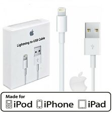 2 X Genuine Lightning USB Charger Lead Cable for Apple iPhone 6 5 iPad 4 Air