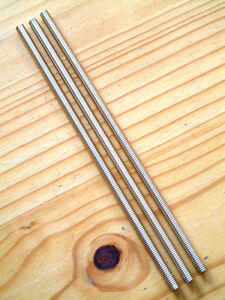 """5//16/"""" x 12 Inch BSF Stainless A2 Studding Quantity 1 5//16 x 22 tpi"""