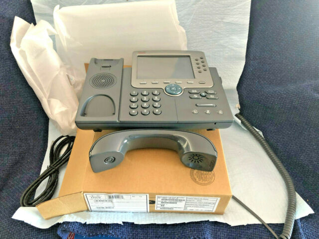 CISCO CP-7975G Eight line Color Display IP Phone - New Surplus