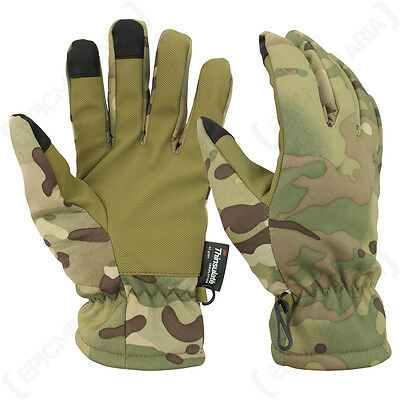 Multitarn Softshell Gloves Winter Thinsulate Fleece Line Touch Screen Tips New