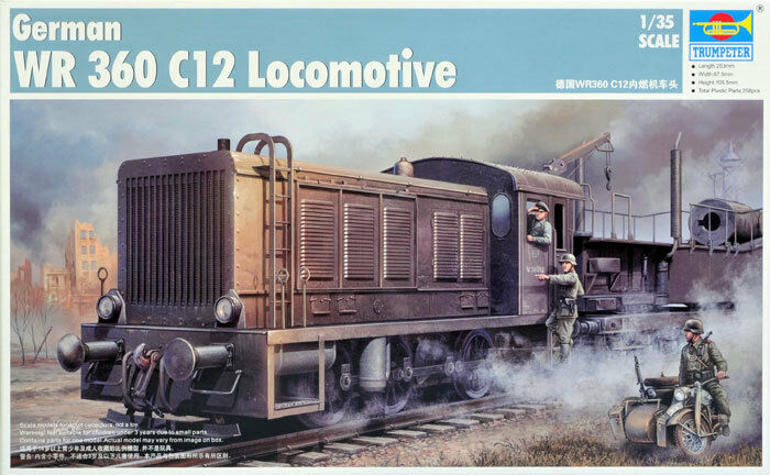 ◆ Trumpeter 00216 1 35 German WR 360 C12 Locomotive