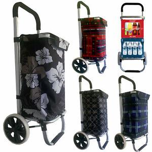 Einkaufstrolley Einkaufswagen Trolley Einkaufsroller Aluminium Tasche Shopping