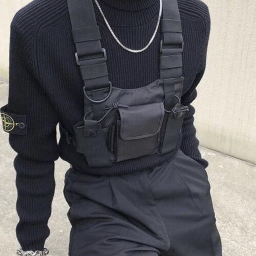 Walkie Talkie Brust Tasche Pack Rucksack Handy Halter Brusttasche Schultertasche