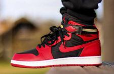 new arrival 8069b 7c2ef 2015 Nike Air Jordan 1 Hi Strap size 13. Black Red Bred Gold. 342132