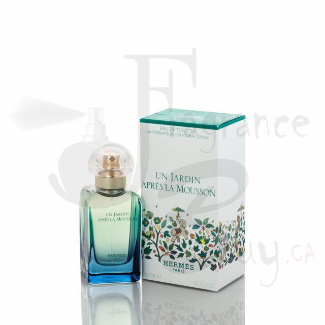 Hermes Un Jardin Apres La Mousson W 50Ml Boxed