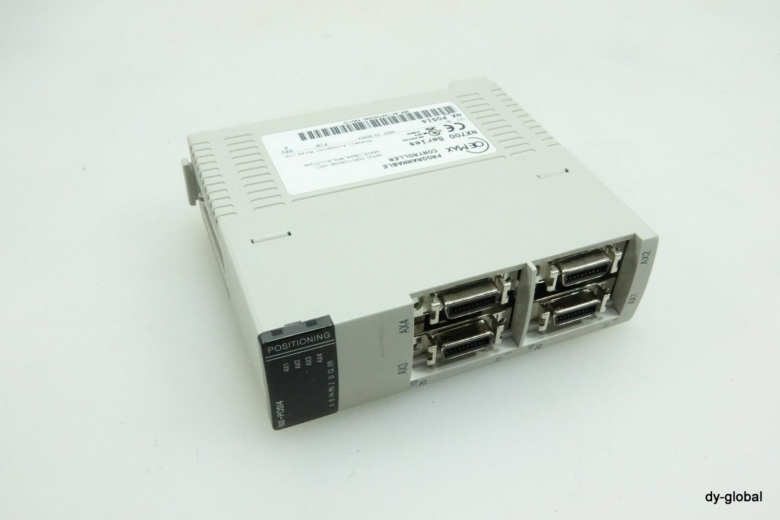 OEMAX Used NX_POSI4 CONTROLLER NX700 4 Axis POSITIONING UNIT PLC-I-536=7C22