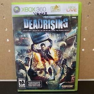 Dead Rising (Microsoft Xbox 360, 2006) Complete CIB - Tested!