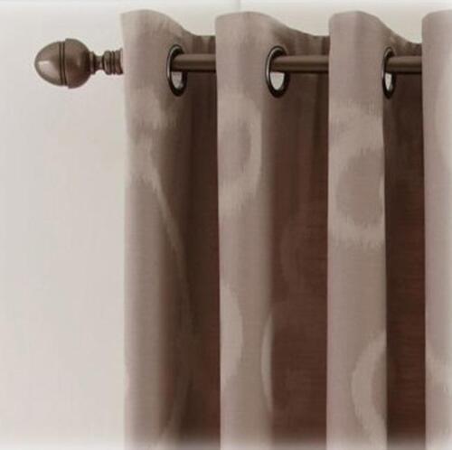 Brand New Royal Velvet Smokey Gray Grommet Top Curtain Panel 50X95