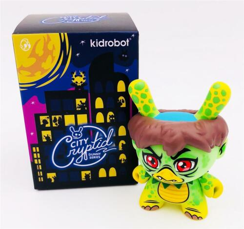 CITY CRYPTID DUNNY ANGRY KAPPA SCOTT TOLLESON CHASE VINYL FIGURE KIDROBOT
