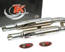Auspuff Sport Turbo Kit X-Road Custom für Kymco Zing 125 Motorrad