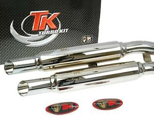 MARMITTA-Sport-Turbo-Kit-X-ROAD-custom-per-Kymco-Zing-125-MOTO