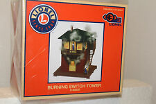 LIONEL 6-82020  Burning Switch Tower