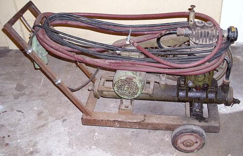 Alter DDR Kompressor 380 Volt Kraftstrom, Funktionstüchtig