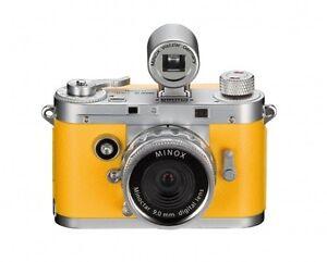 Minox-Digital-Classic-Camera-DCC-5-1-Colour-Edition-Neuware-orange-in-Alubox