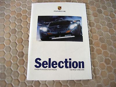 1998 Porsche 911 Boxter Sales Folder Brochure Dealer Advertisement Features NOS