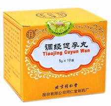 3 Cajas de Tong Ren Tang Tiao Jing Cu Yun Wan Tiaojing Piscina Promover Embarazo