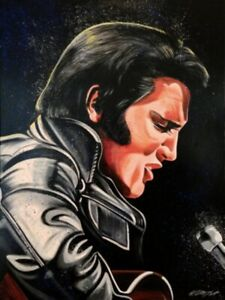 Van-Go Paint-By-Number Kit Elvis Presley 4