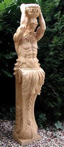 Galionsfigur-Statue-Kore-Figur-Gartenfigur-Karyatide-Atlant-131cm-St04-3-a