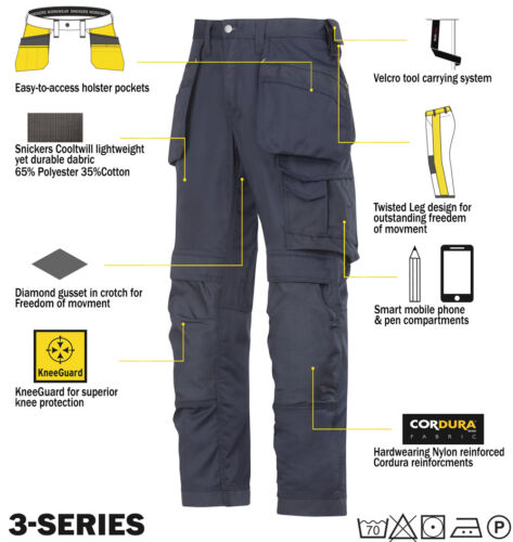 Snickers 3211 Cooltwill Hosen SnickersDirect Marine