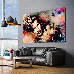 marilyn monroe bilder leinwand bild wandbilder kunstdrucke poster xxl ebay. Black Bedroom Furniture Sets. Home Design Ideas