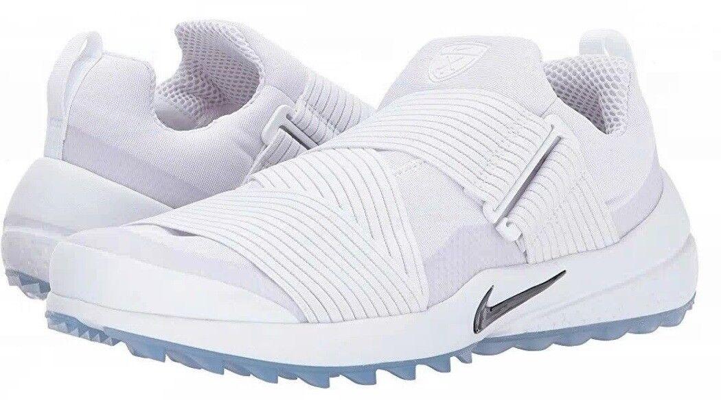 Nuova 125 nike air zoom - uomini scarpe da golf bianco 849955-100 dimensioni noi 11 /
