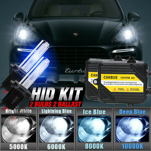 Details about CANBUS ERROR FREE HID CONVERSION KIT 55W H7 BULBS FIT PORSCHE  CAYENNE TERMINATOR