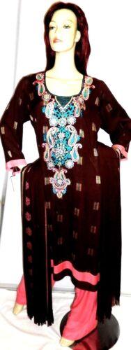 Plus Abaya Designer Sari Suit Shalwar Eid Salwar indiano Pakistani 18 Kameez Uk 8x7nRqS