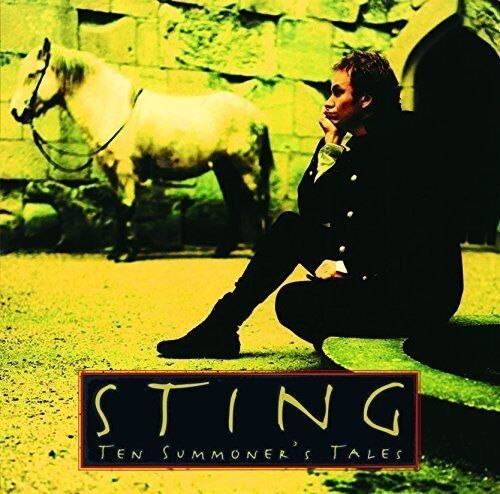 STING Ten Summoner's Tales JAPAN MINI LP SHM CD