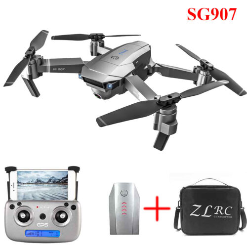 LOT SG907 GPS Drone 4K HD Dual Camera 5G Wifi FPV Drone RC Quadcopter Follow