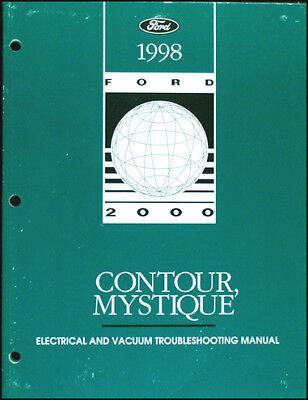 1998 Ford Contour Mercury Mystique Electrical ...