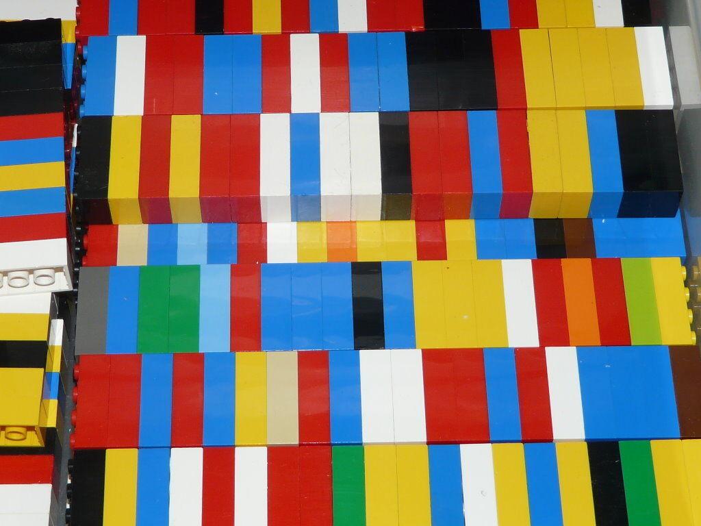 200 Lego Basicsteine 2 x 4 - hohe Basics Bausteine bunt gemischt - Top Zustand