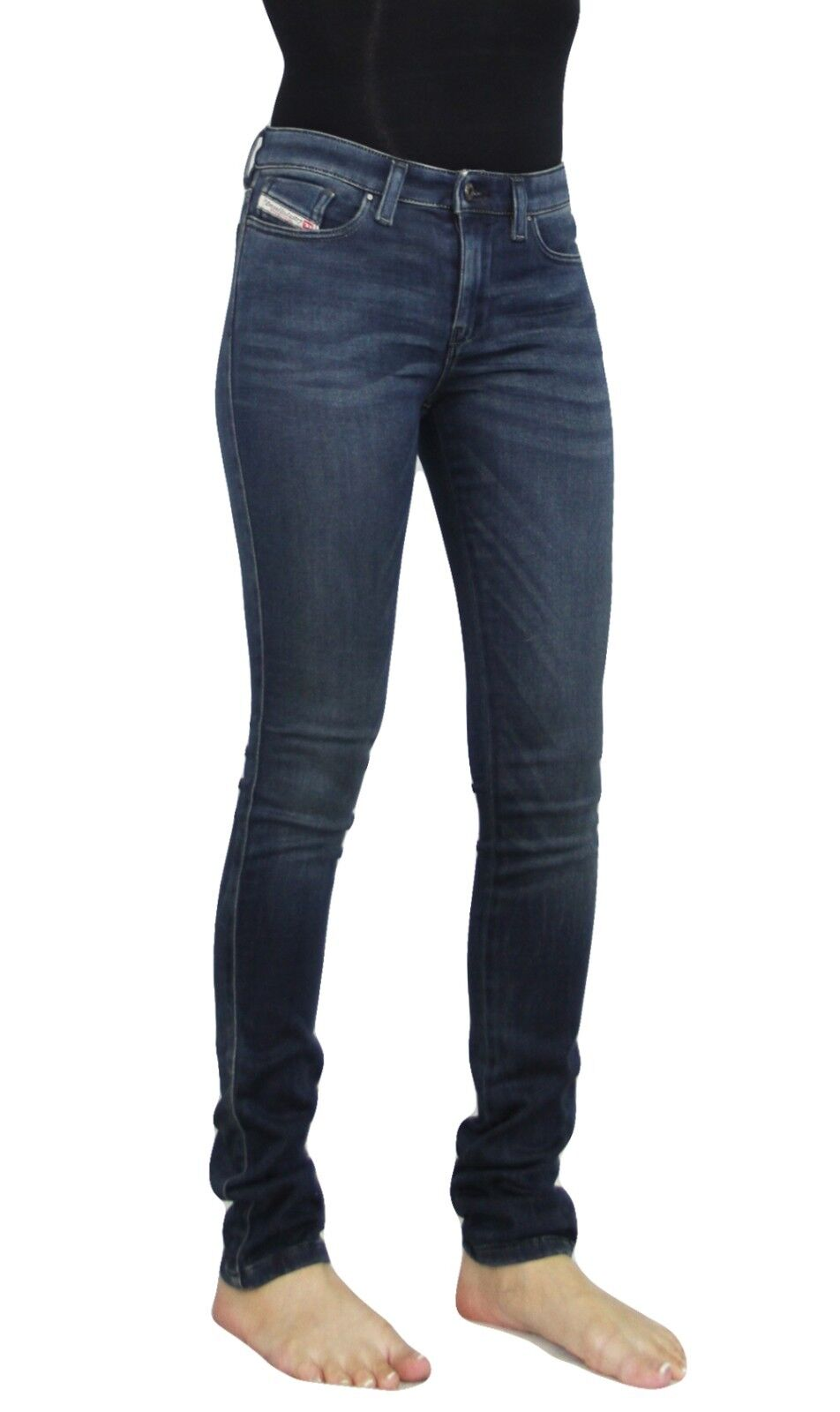 NWT Diesel Women's Skinzee Sateen Super Stretchy Skinny Jeans, Trousers 834R