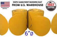 "6"" Sanding Disc Sandpaper 100 Roll PSA Sticky Back Grit 40-800 Sand Paper 80 320"
