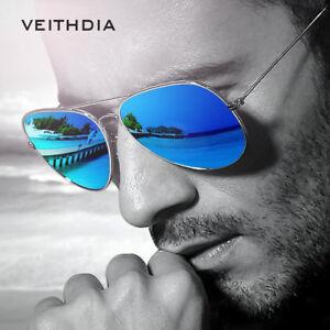 Image is loading Veithdia-Men-039-S-Sunglasses-Designer-Vintage-Polarized- 0a837272a97