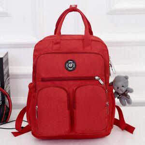Details About Large Capacity Multi Pocket Waterproof Backpack Women Outdoor Rucksack