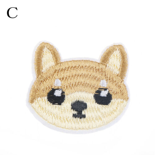 1pc Cute Bulldog schnauzer dog patch babies clothing patches backpack decor HICA