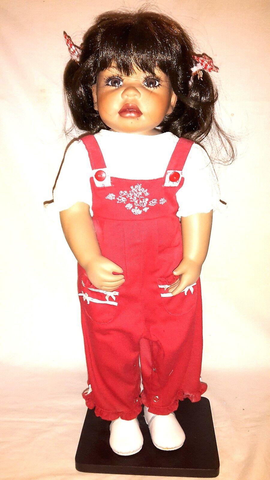 Artista Bambola Mary da Pauline van Wees PORCELLANA circa 60cm stata limitata n. 10 500