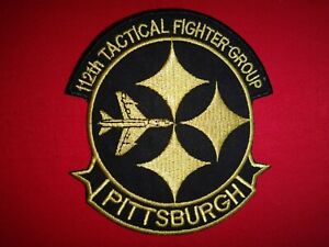 US Air Force 112th TACTICAL FIGHTER Squadron PITTSBURGH, PA. Patch