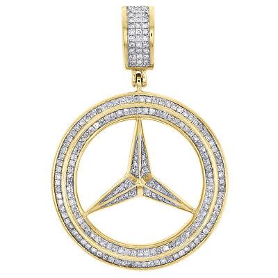 1//2ct Vrai Diamant Journey Pendentif 14K Or Blanc