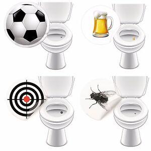 WC-Aufkleber-GASTRO-fuer-Pissoir-Toilette-Sticker-bunt-lustig-4-Motive-je-2-Stueck
