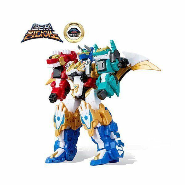 Dino Core Evolution Ultimate King Transformer Dinosaur Robot Kid_IU