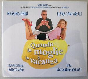 RENATO-ZERO-CD-sigillato-Quando-la-moglie-e-in-vacanza-musical-colonna-sonora