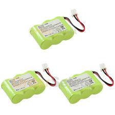 3x Home Phone Battery 300mAh for Vtech CS5111-2 CS5112 CS5121 CS5121-2 CS5121-3