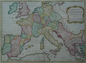 Empire Caroli Magni-t. Kitchen/j. Blair-l' Empire Karl Du Grand -1799-afficher Le Titre D'origine Fqmh4xz9-10110624-252567274